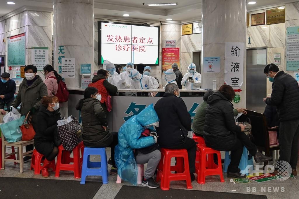 中国、軍の衛生要員450人を武漢に展開 SARSやエボラ対策経験の軍医も