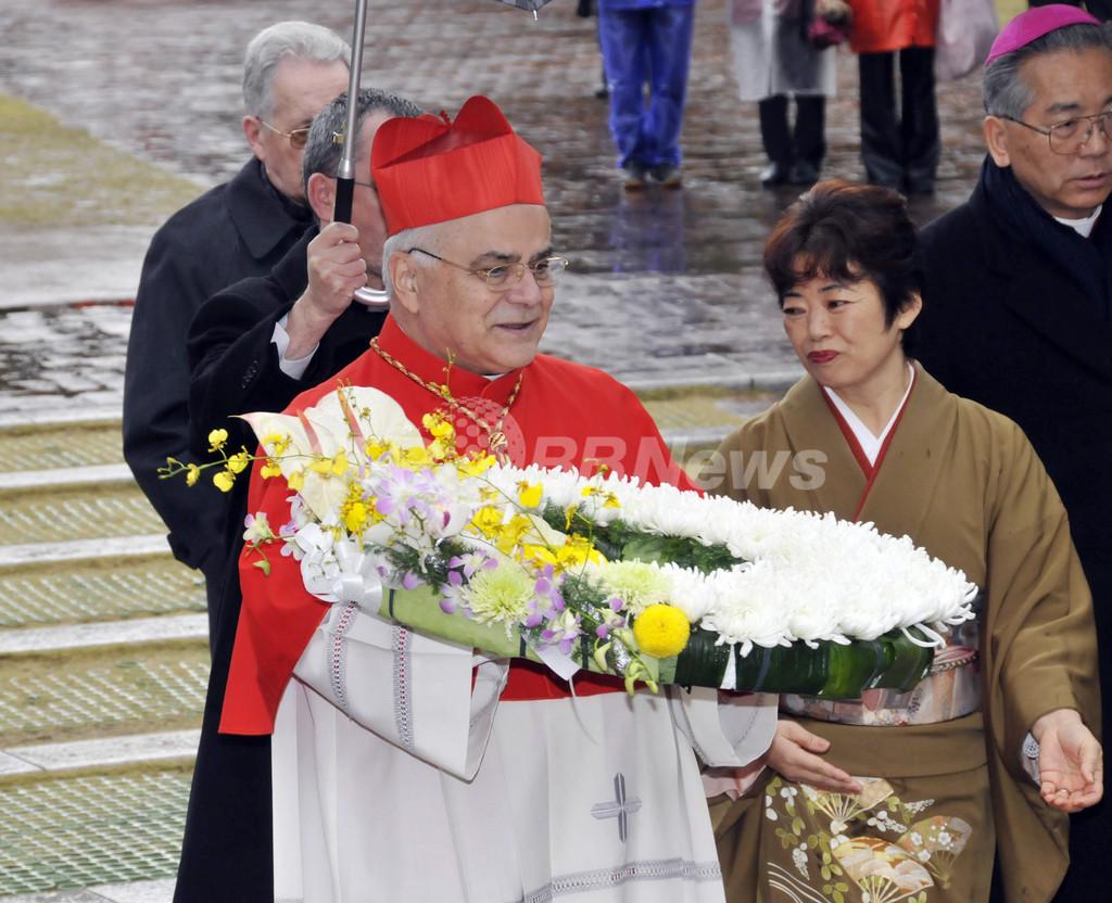 長崎で国内初のカトリック列福式、殉教者188人に福位