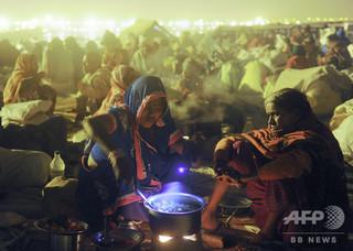 儀式の供え物を食べ11人死亡、コメに毒混入か インド