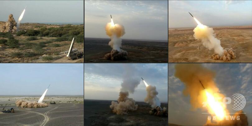 イラン、「地中深く」から弾道ミサイル発射に成功 「世界初」強調 写真 ...