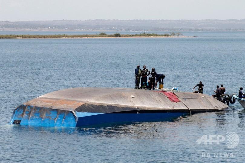 アフリカ・ビクトリア湖のフェリー転覆事故、死者209人に