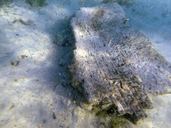 「津波で沈んだ」古代ローマ都市遺跡、チュニジア沖で発見