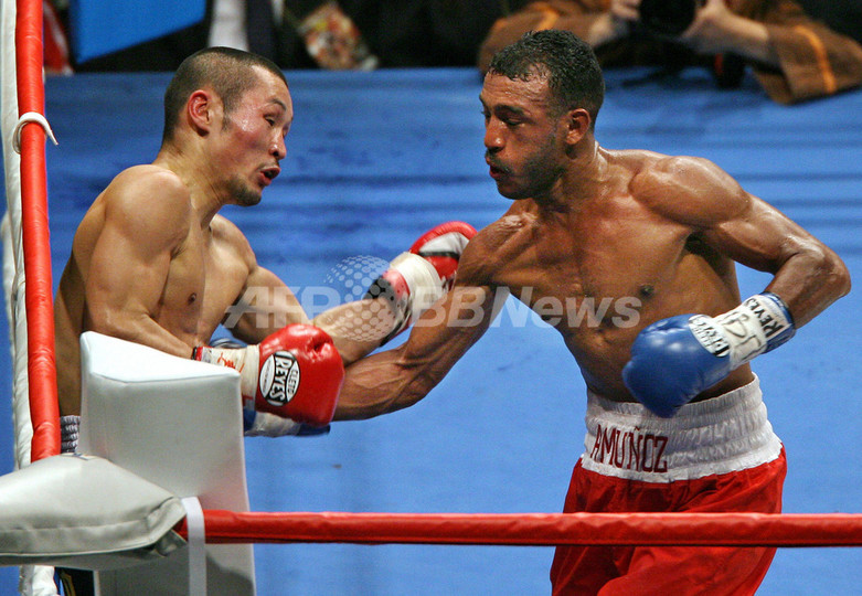 ボクシング>名城 WBAスーパーフ...