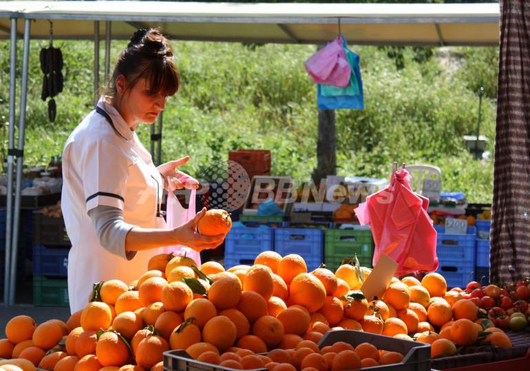 ちょこっと旅気分、キプロスの市場の風景
