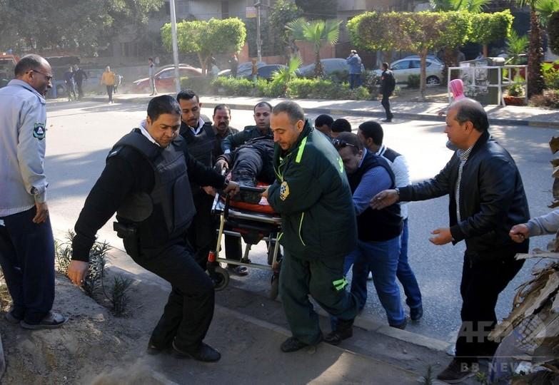 エジプト首都で爆発、警官6人死亡