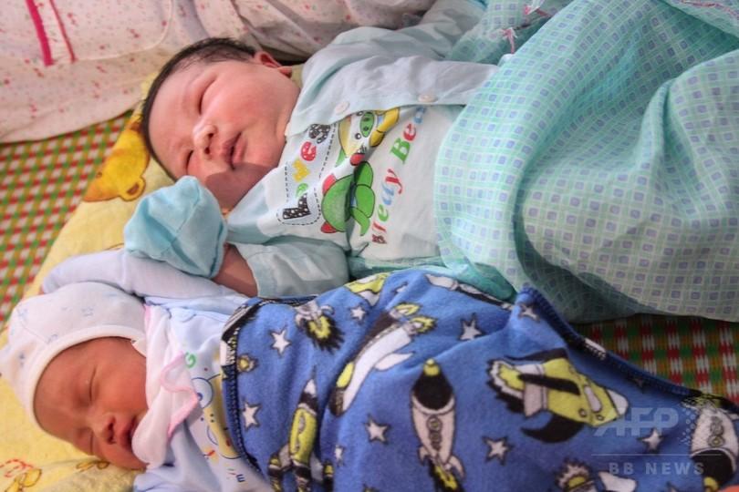 体重7キロ超のビッグベビー、ベトナムで誕生