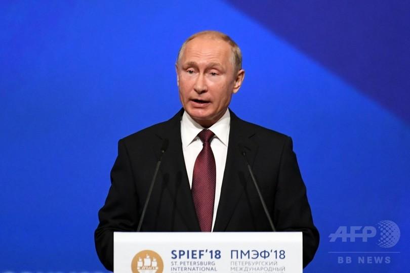 プーチン大統領、ロシアによるマレーシア航空MH17便の撃墜を否定