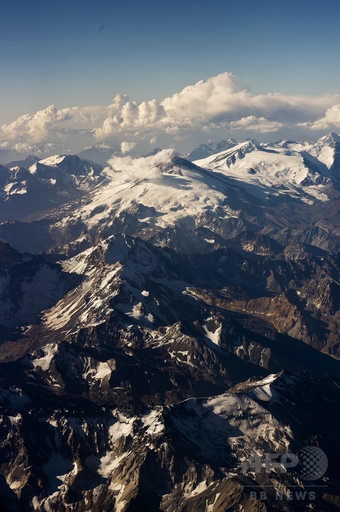 50年前にサッカーチームと消えた旅客機、アンデス山中で残骸発見