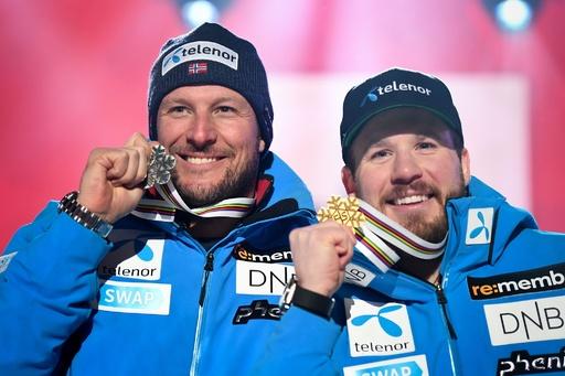ヤンスルードが滑降優勝、引退のスビンダルは有終の銀 世界アルペン