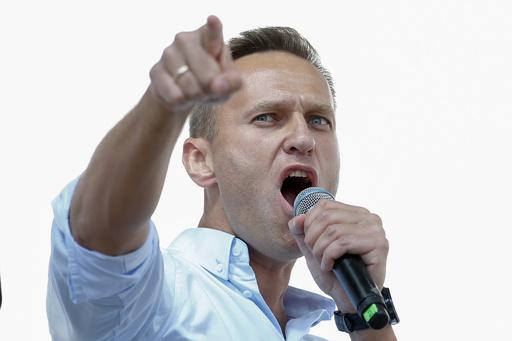 ロシア野党指導者ナワリヌイ氏釈放