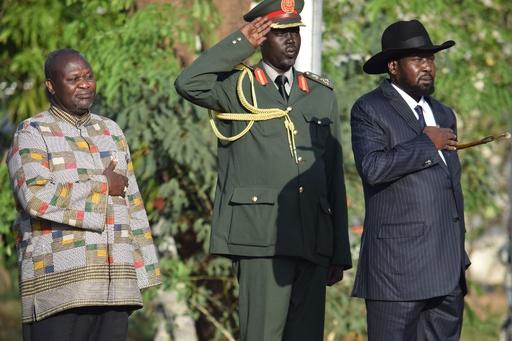 南スーダン反政府勢力トップが副大統領復帰、和平へ期待高まる