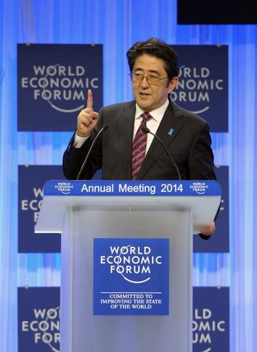 安倍首相、「アジアでの軍拡」に警告 中国をけん制