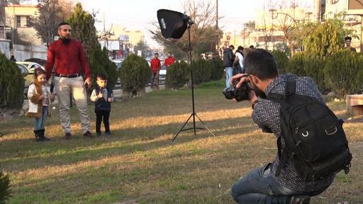 動画:IS支配下の暗黒の日々を記録に イラク・モスルのアマチュアカメラマン