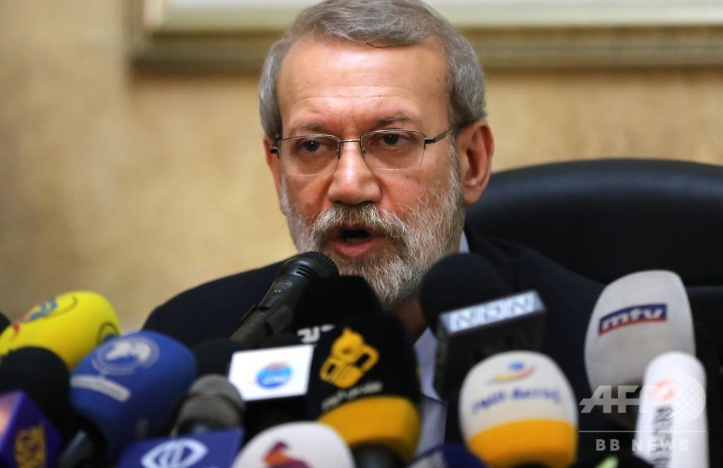 イラン国会議長、新型コロナ検査で陽性