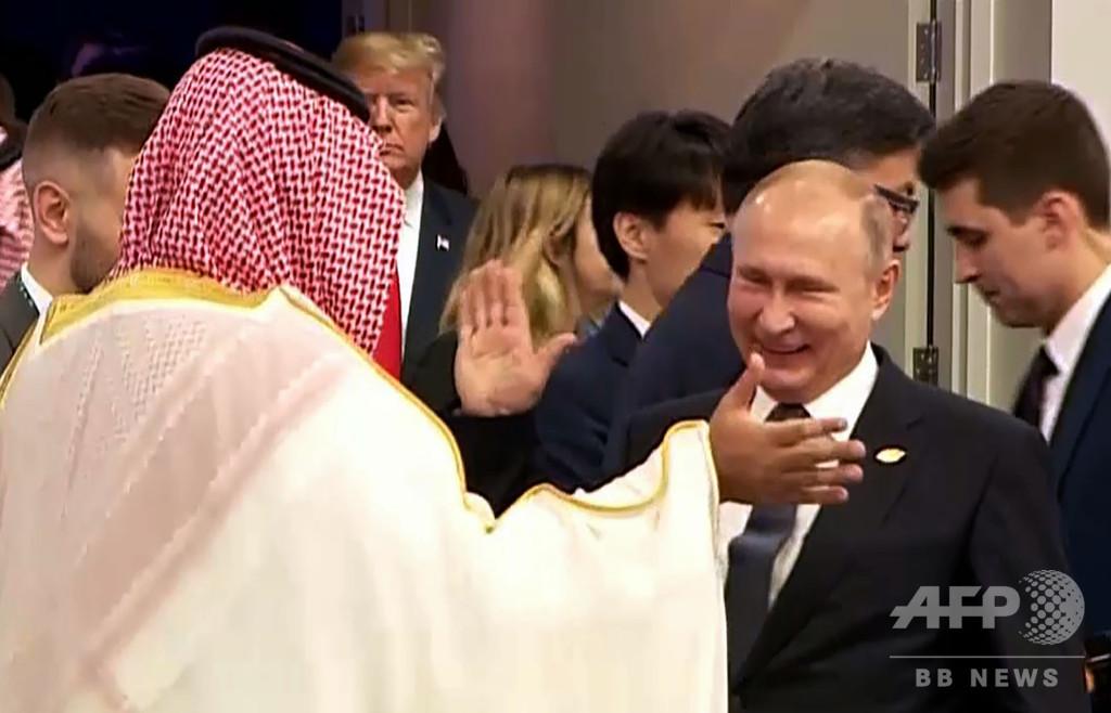 G20開幕 サウジ皇太子をプーチン氏が熱烈歓迎