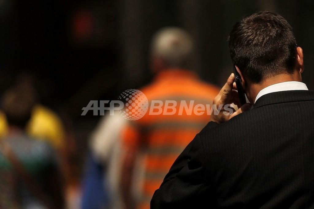 携帯電話の長時間使用、脳腫瘍リスク高める可能性 WHO