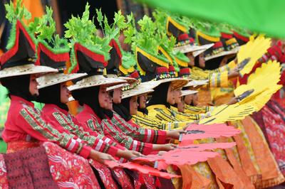 【今日の1枚】色彩の祭り インドネシア