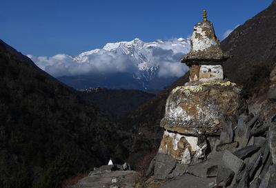 【写真特集】エベレストの春、登山者でにぎわい