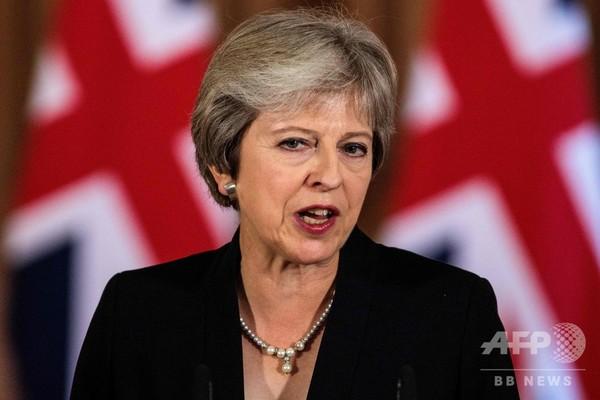 EU離脱、英首相に逆風 離脱派は集会 EU大統領は「当てこすり」