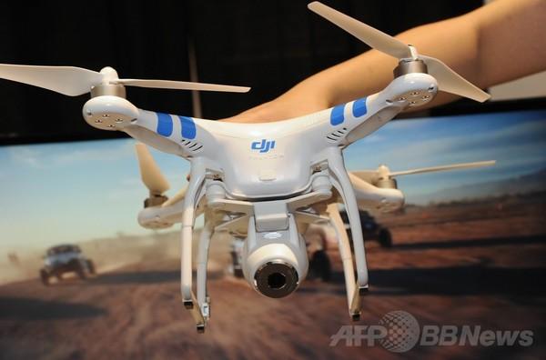 玩具から本格派まで、個人用無人機 CES出品