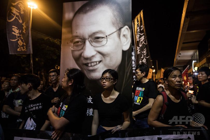 劉暁波氏の死で遠のく中国民主化の夢