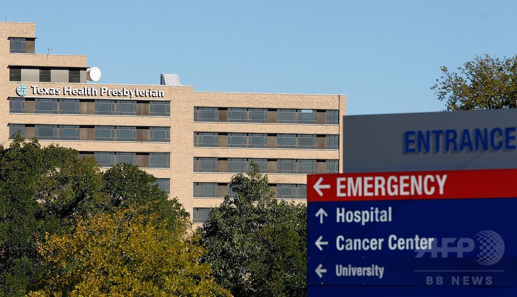 米で2人目のエボラ感染か、テキサス医療従事者に陽性反応