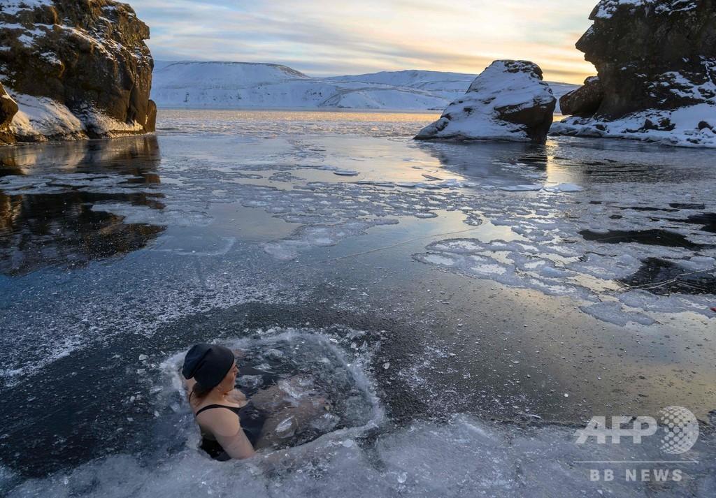 ストレス解消は温泉より凍結湖? アイスランドでじわり「熱い」セミナー