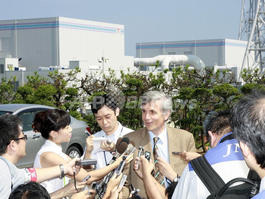 IAEA、柏崎刈羽原発の調査を開始