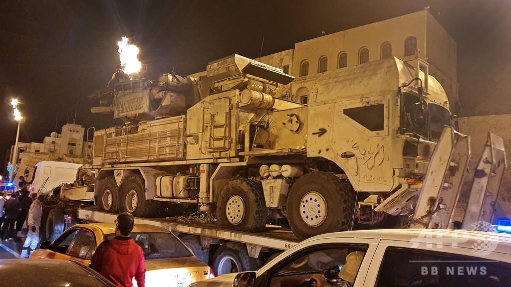 ロシア、傭兵支援でリビアに戦闘機派遣 米アフリカ軍が主張