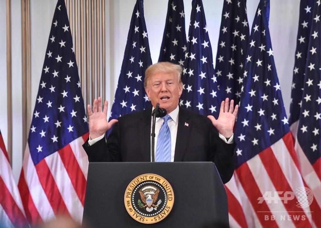 トランプ氏「私が大統領でなければ北朝鮮と戦争」 非核化期限は切らず