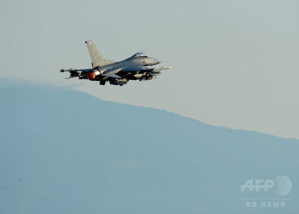 トルコ軍機、有志連合の対IS空爆に初参加