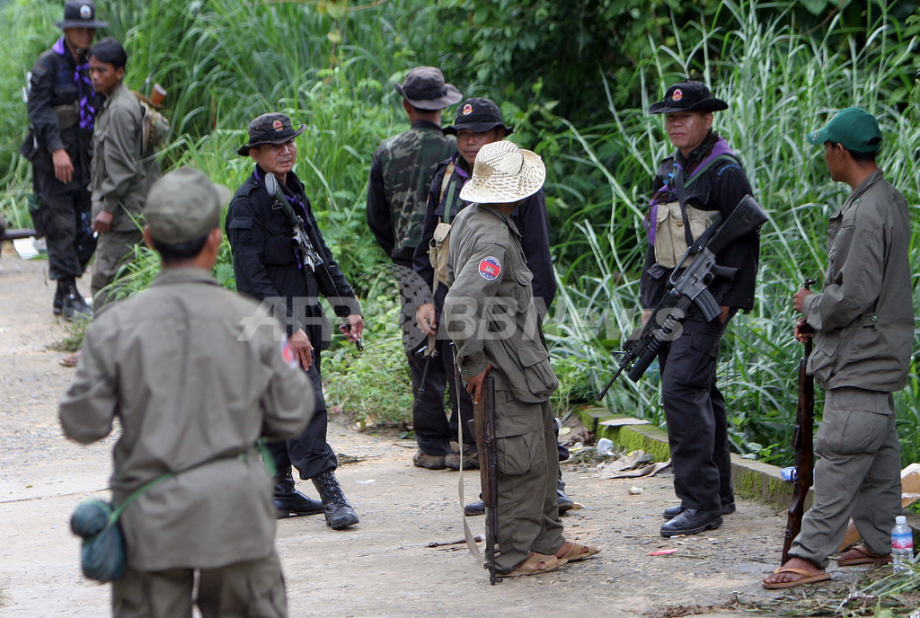 カンボジア・タイ国軍、国境未画定地域で銃撃戦 3人負傷