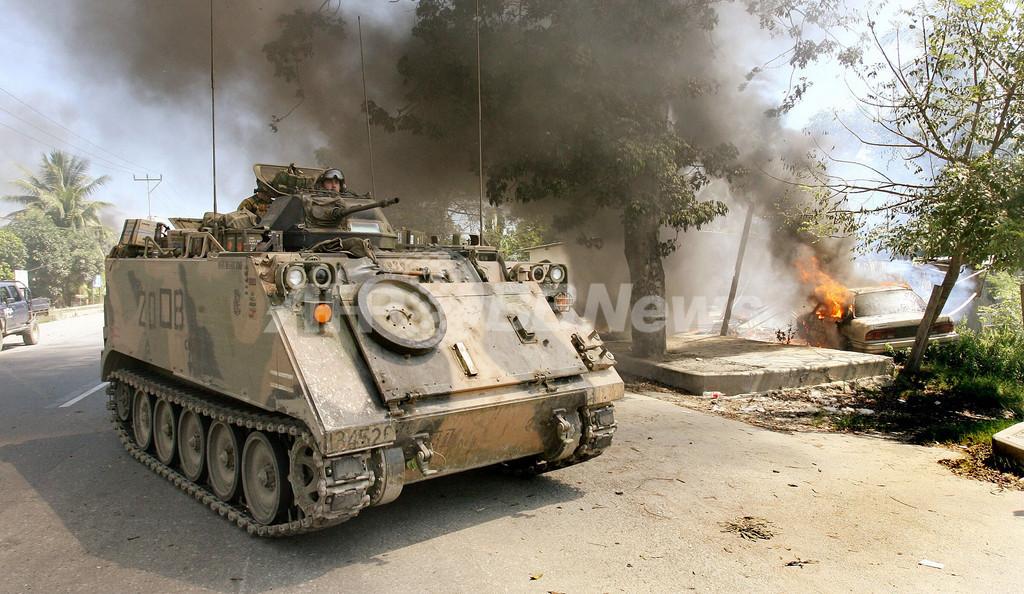散発的な衝突続く首都ディリ - 東ティモール