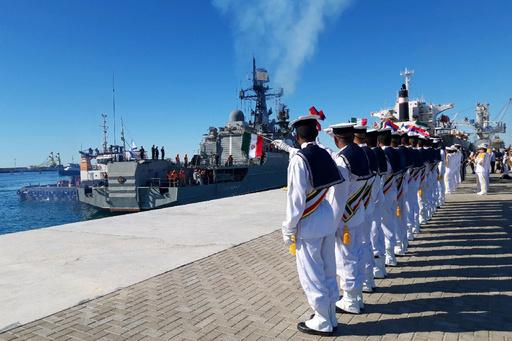 イラン、中国、ロシアが海軍合同演習開始 対米緊張高まる中