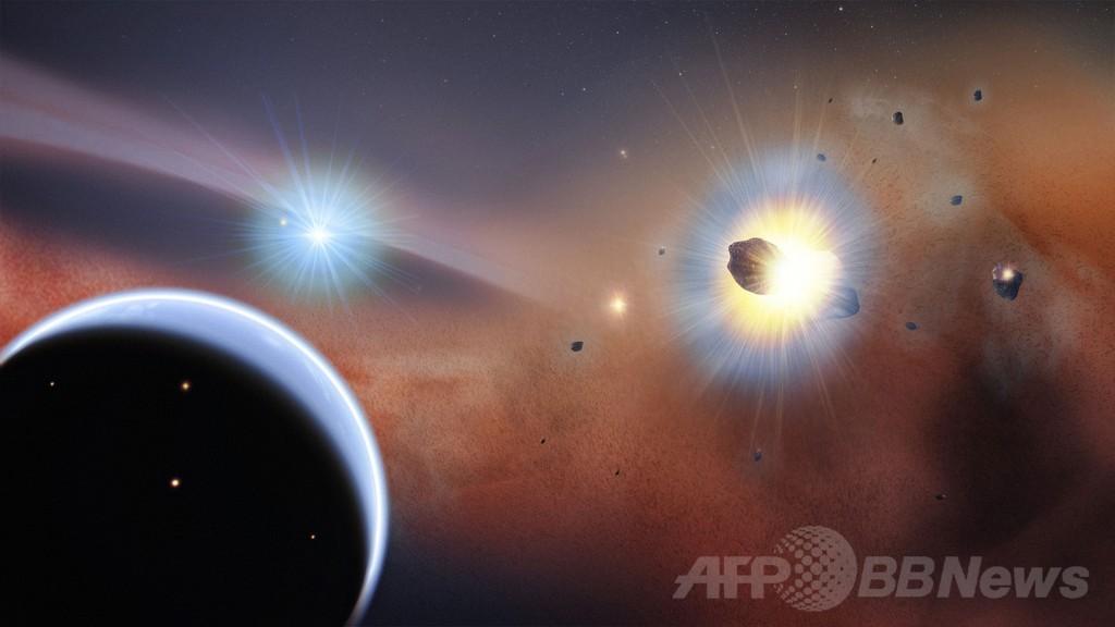 がか座ベータ星の周囲に一酸化炭素ガス塊、NASAが発表