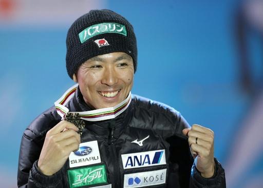渡部暁斗が複合個人NHで銅メダル、ノルディック世界選手権
