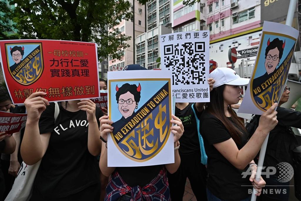 史上最大200万人デモ、条例改正撤回と長官辞任要求 幹線道路は交通再開 香港