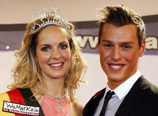 ドイツが選んだ美男美女、ミス&ミスタードイツ決定