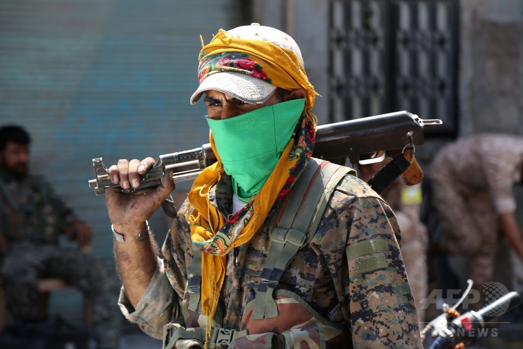 IS、「人間の盾」数百人を解放 依然多数が行方不明 シリア