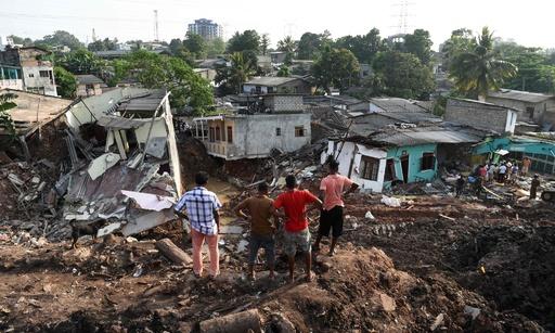 スリランカのごみ山崩落事故、死者28人に 400超の世帯が避難