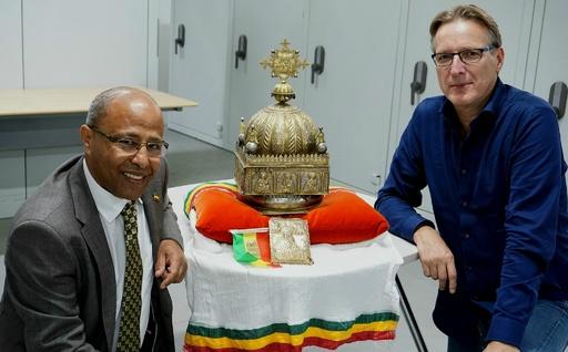 20年以上隠し続けた18世紀の冠 エチオピアに返還へ