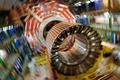 スイス・ジュネーブ(Geneva)にある欧州合同素粒子原子核研究機構(European Organisation for Nuclear Research、CERN)の粒子加速器「大型ハドロン衝突型加速器(LHC)」(2007年3月22日撮影)。(c)AFP/FABRICE COFFRINI