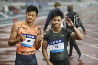 中国最速男の未来に「減速」なし 謝震業、9秒97の中国新記録