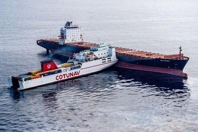 仏コルシカ島沖で貨物船同士が衝突、海洋保護区へ燃料が漏出
