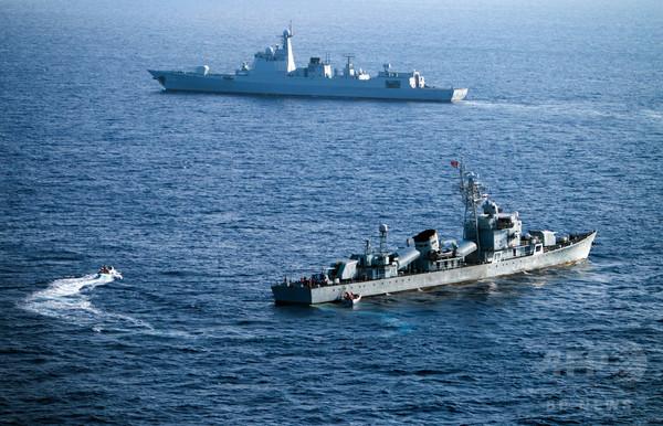 東シナ海で実弾演習=日本けん制する狙いか-中国