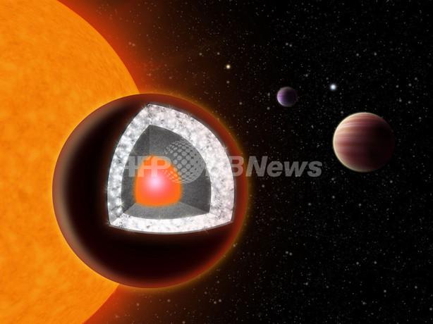 「ダイヤモンドの惑星」発見、地球から40光年 仏米研究チーム