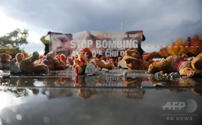 アレッポで露製クラスター爆弾の証拠、2週間で空爆110か所超