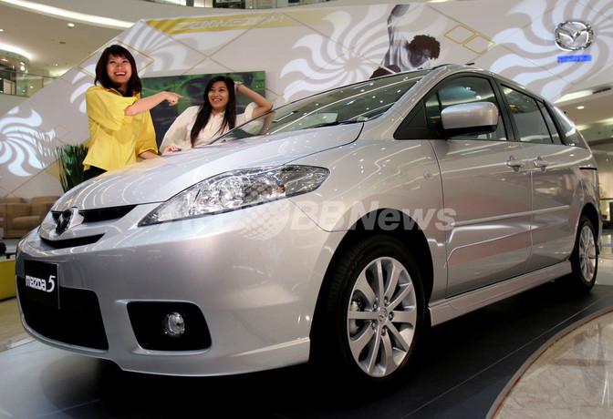 国際ニュース:AFPBB Newsマツダ、インドネシアでミニバン新モデルを発売