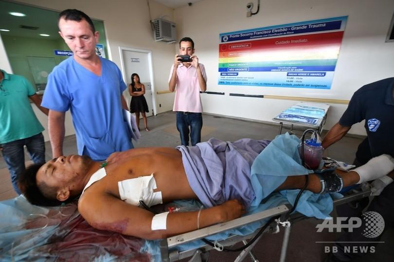 食料めぐり兵士と衝突、2人死亡 ベネズエラ・ブラジル国境