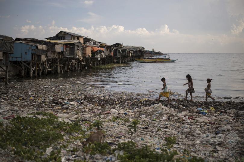 アジアのプラスチックごみ問題、広がる海洋汚染危機